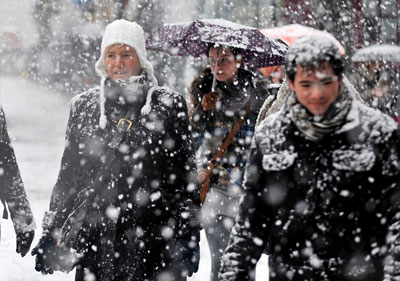 Si se calienta el Ártico, Europa se enfría