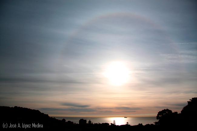 9 tipos de halos de sol en una asombrosa imagen