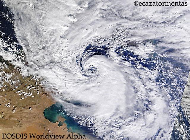 El Calentamiento Global podría provocar un aumento de peligrosidad de los huracanes mediterráneos