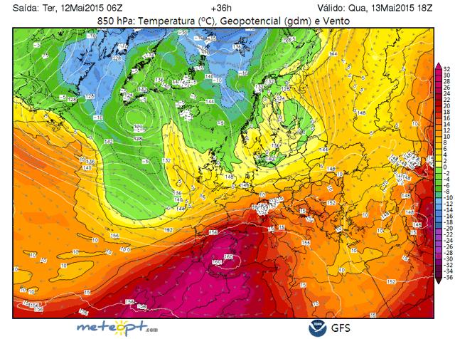 España, temperaturas excepcionalmente altas para esta epoca del año