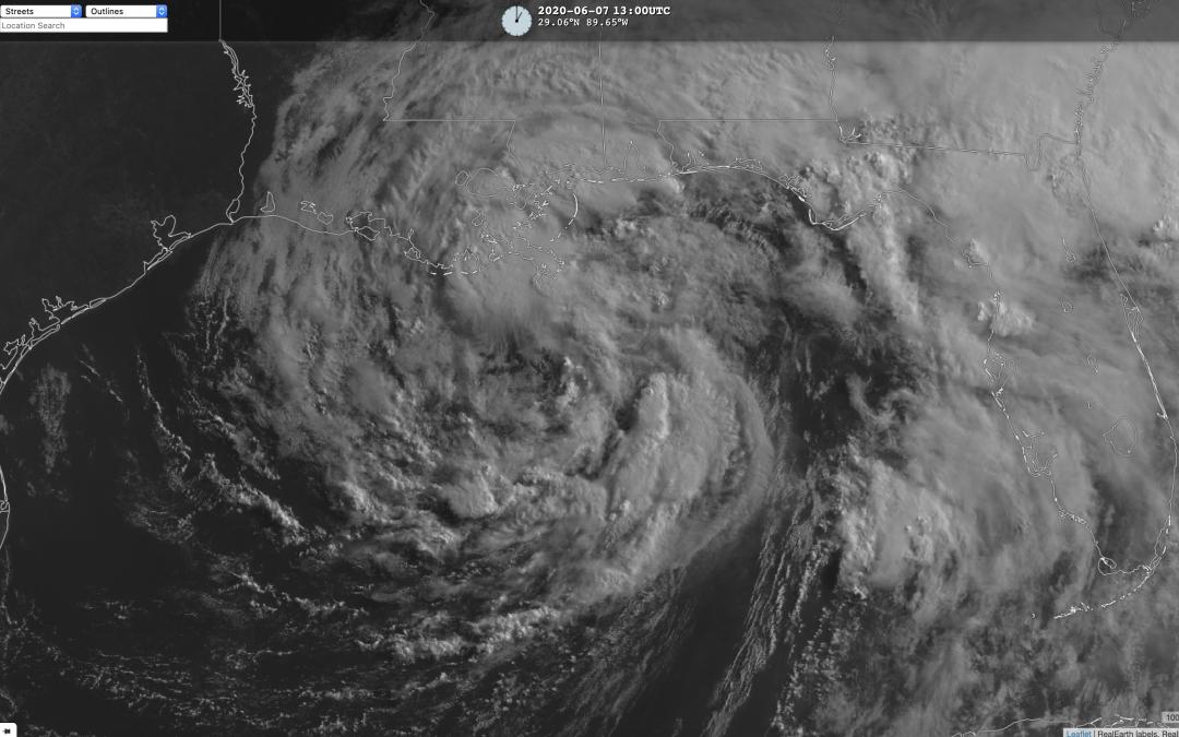 Los «efectos secundarios» de la tormenta tropical Cristobal.