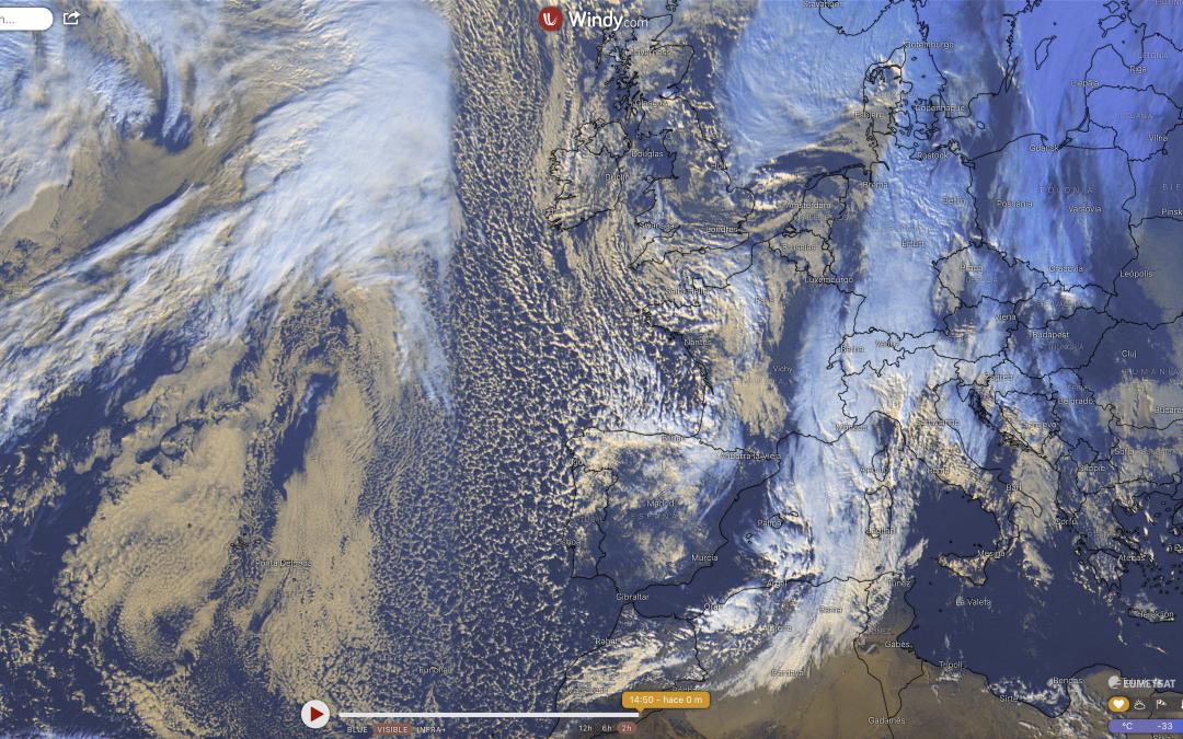 Borrasca Dora: masa de aire polar y ártico traen el frío y la nieve