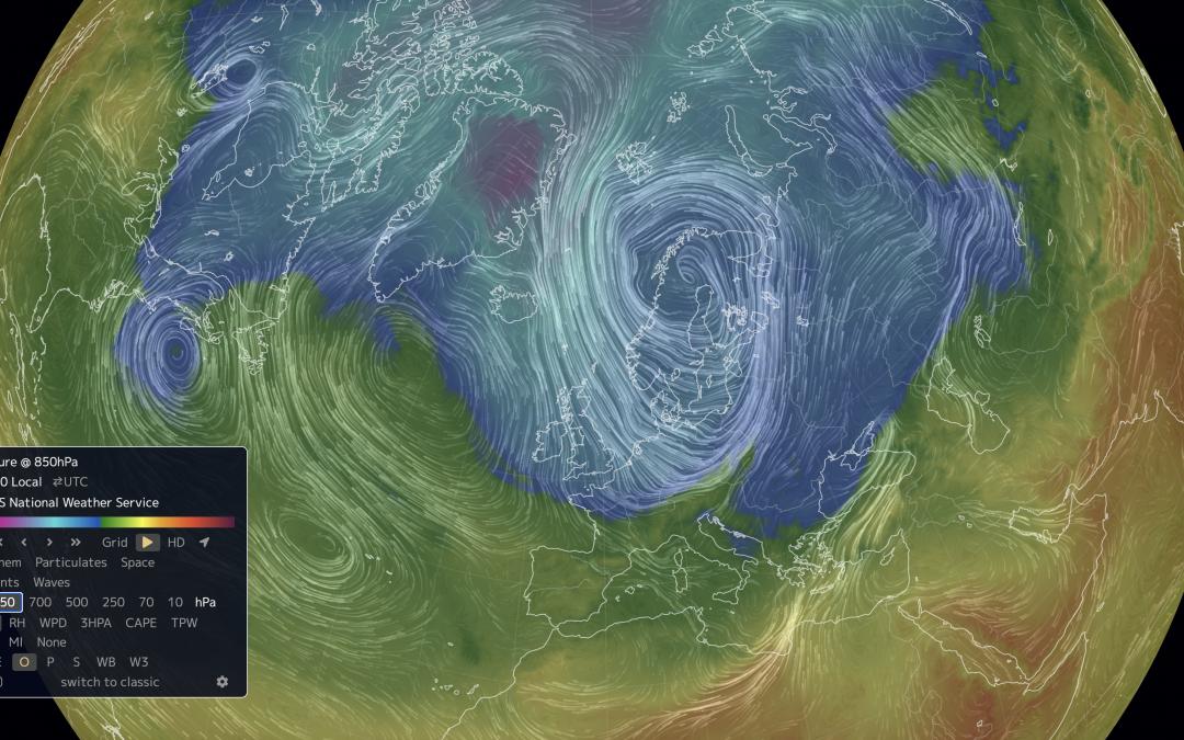 Una masa de aire ártico provocará el desplome de temperaturas en Europa