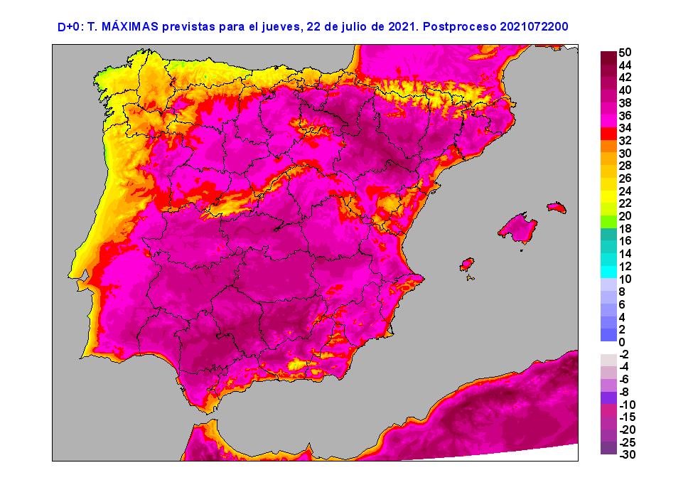 El intenso calor persistirá hasta el domingo