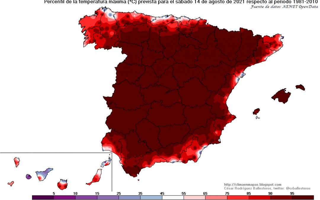 Turno de España: intensa ola de calor en ciernes