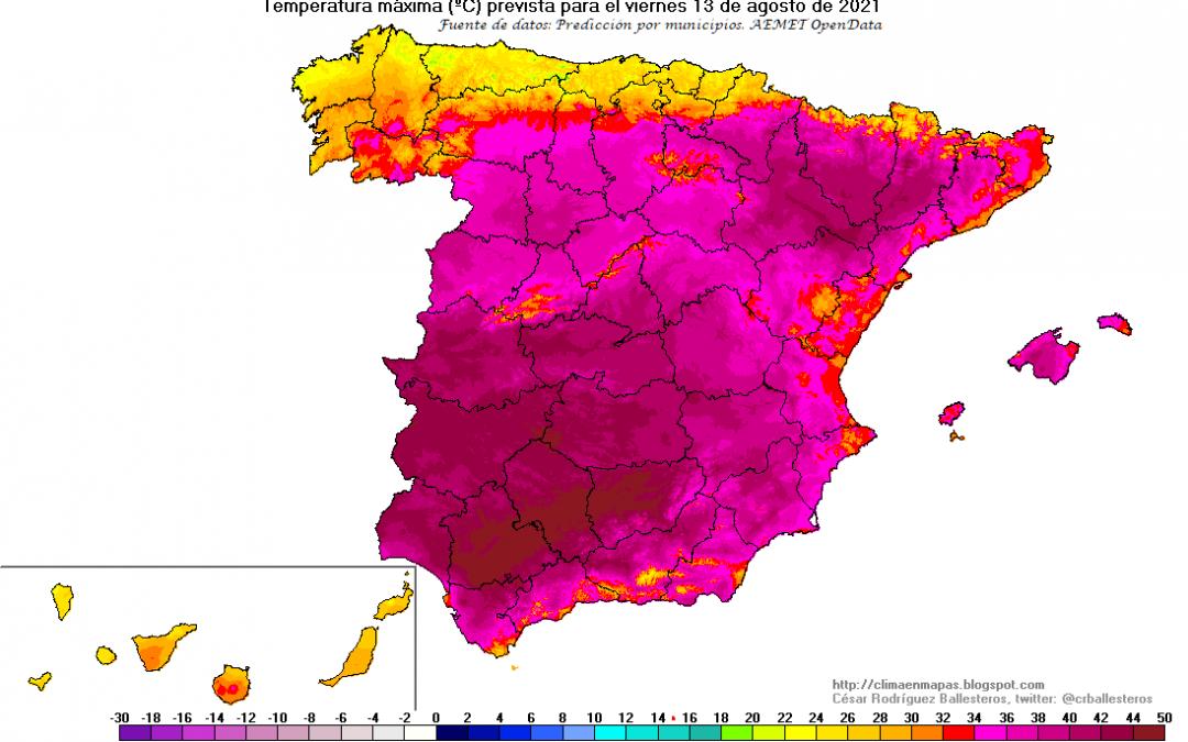 La ola de calor del verano 2021, últimos datos