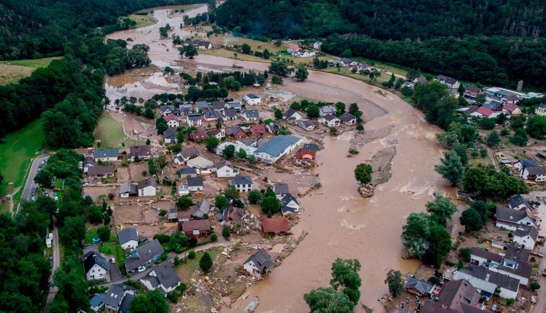 Más inundaciones en Europa por el cambio climático