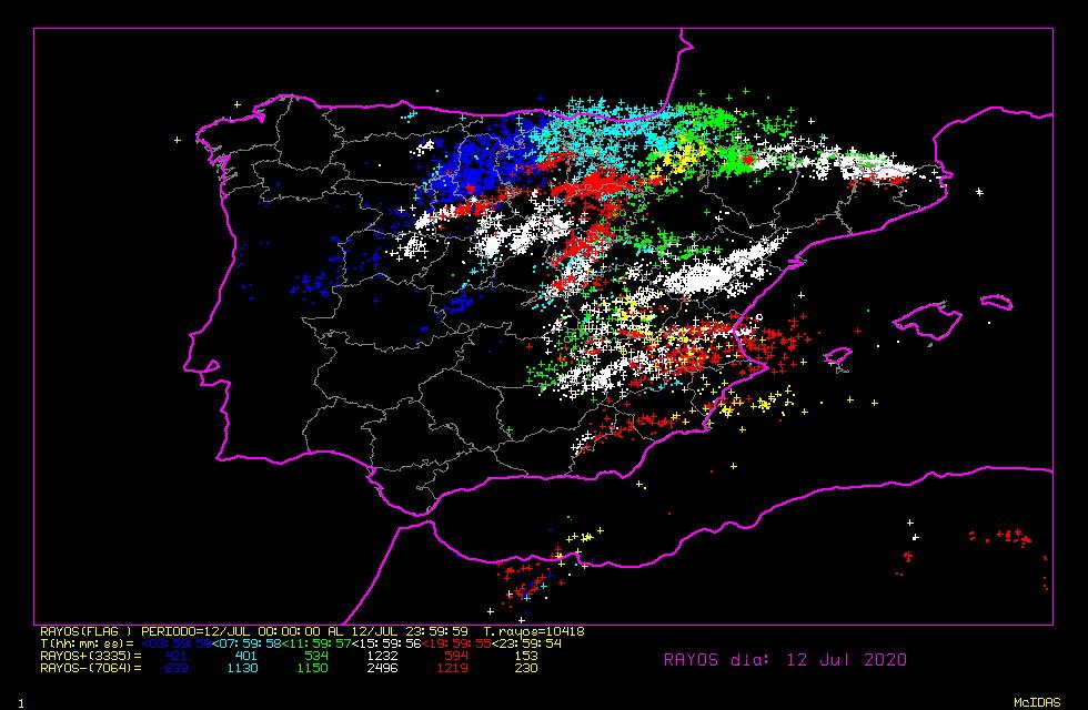 Más tormentas con la llegada de otra vaguada en altura
