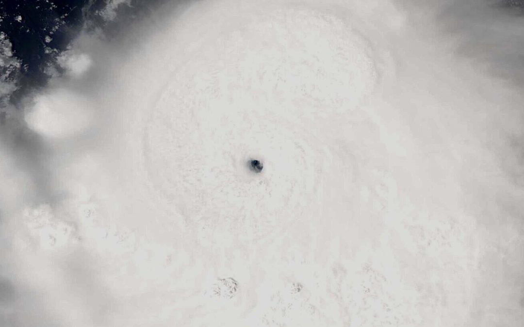 Chanthu, otro súper tifón extraordinario