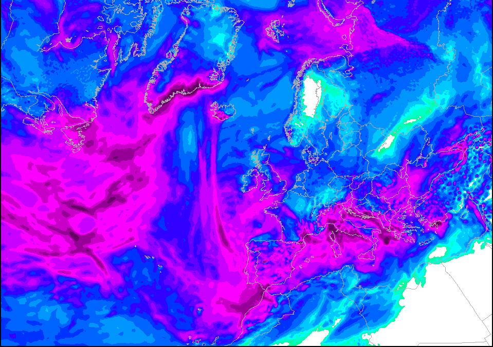 Lluvias casi generales en España: análisis sinóptico