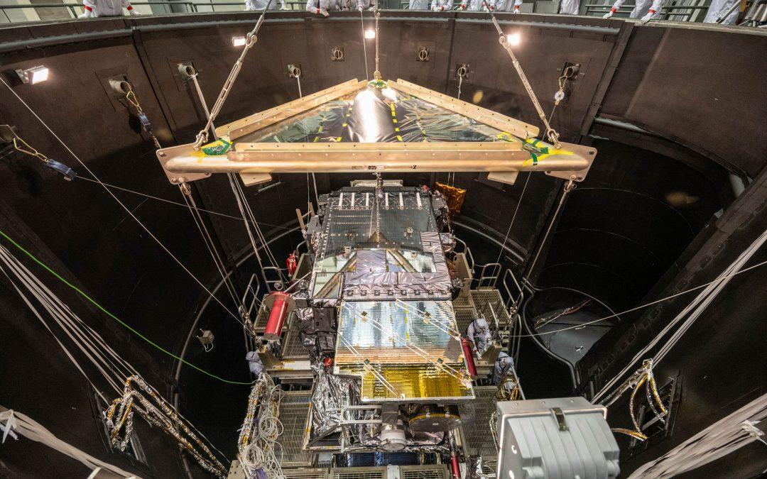 GOES-T, nuevo satélite de la NOAA-NASA, listo para su lanzamiento en diciembre