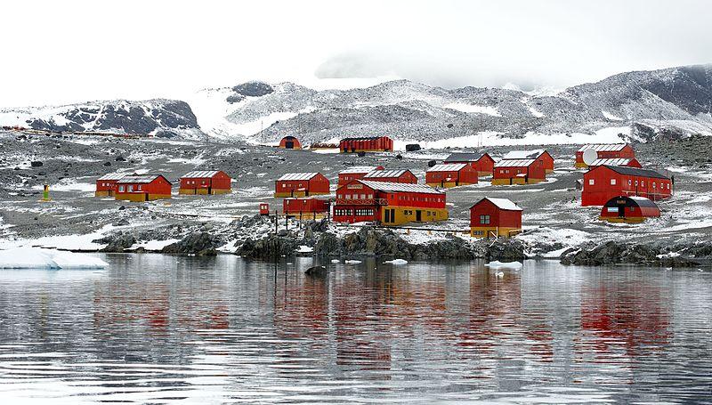 Un récord llamativo en la Antártida