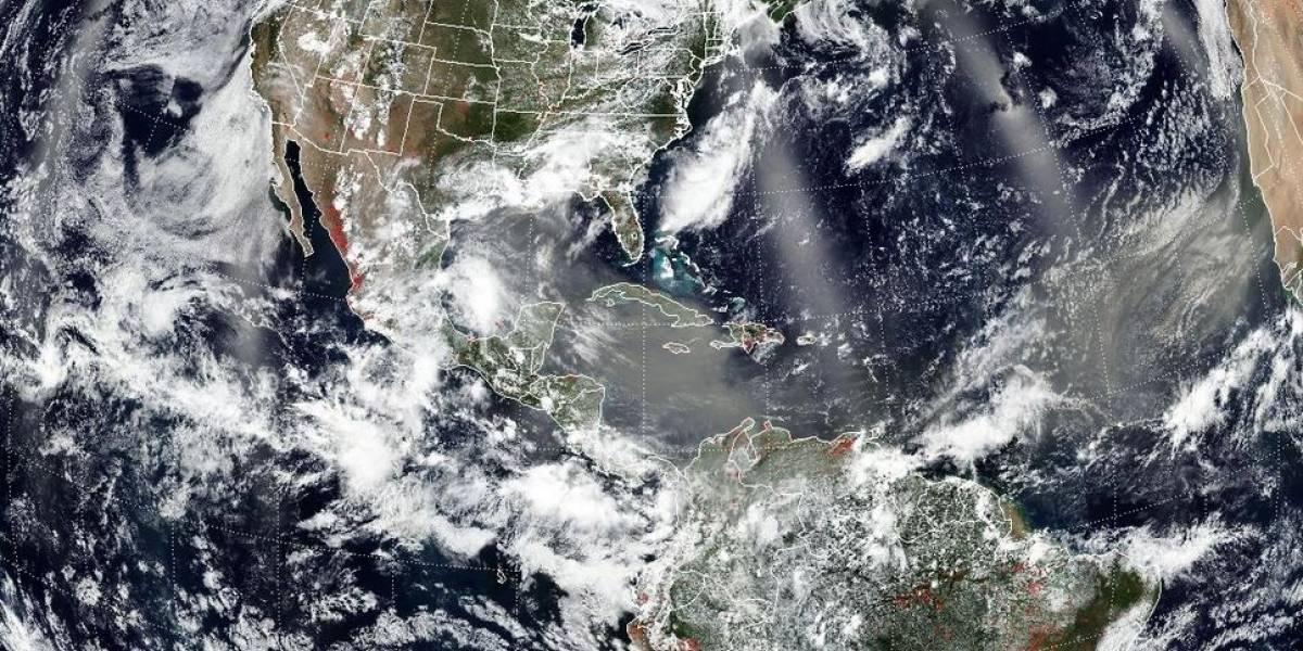 El polvo sahariano como inhibidor de la formación de huracanes
