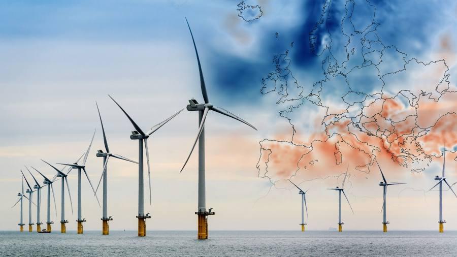 El cambio climático influirá en la generación eólica europea
