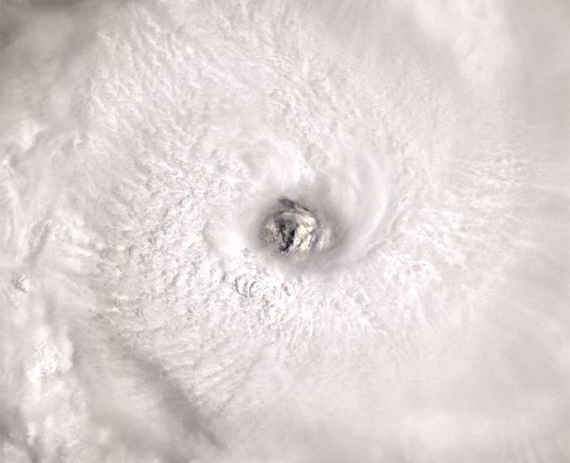 """Ciclón tropical """"Cilida"""" en las cercanías de Isla Mauricio"""