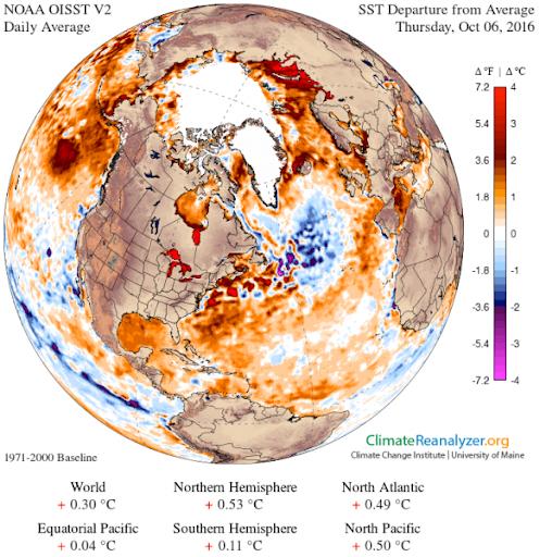Nuevas investigaciones sobre la bolsa de agua fría y dulce del Atlántico Norte