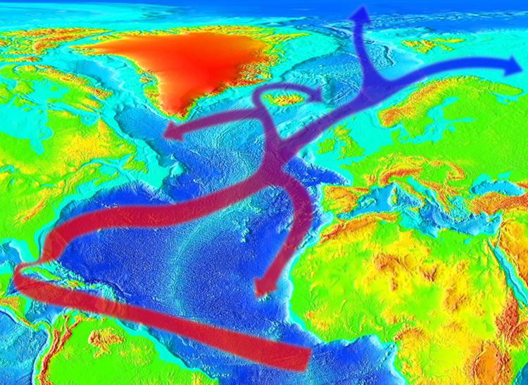 La Corriente del Golfo en su momento más débil en 1.000 años