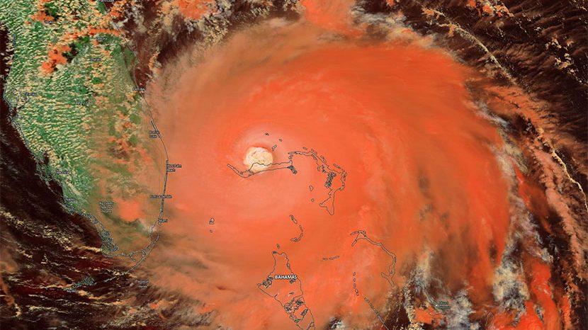 Los récords del huracán Dorian en el momento álgido de la temporada