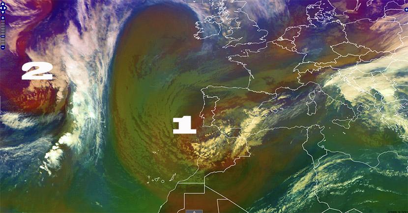 Arco mediterráneo, Baleares y Canarias, en el punto de mira de dos DANA.