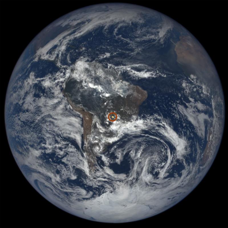 Misterio resuelto, destellos brillantes en las imágenes satelitales