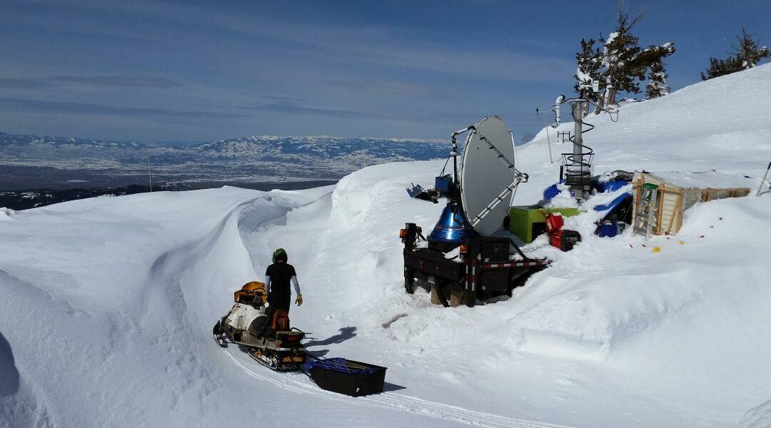 Un experimento consigue grandes nevadas con la siembra de nubes