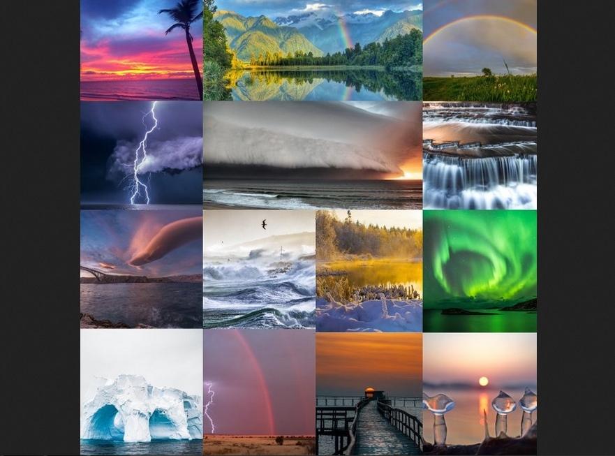 Las 14 fotografías ganadoras del Concurso anual de la OMM 2020