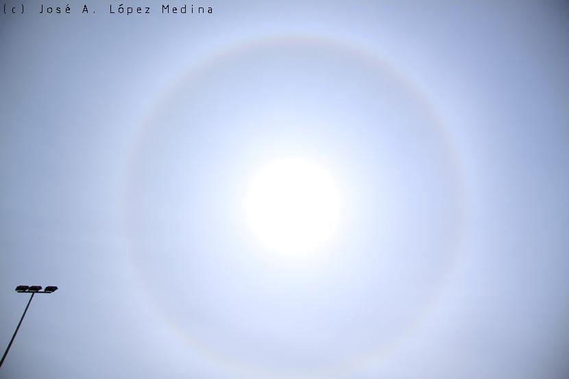 Cirrostratus, un velo en el cielo
