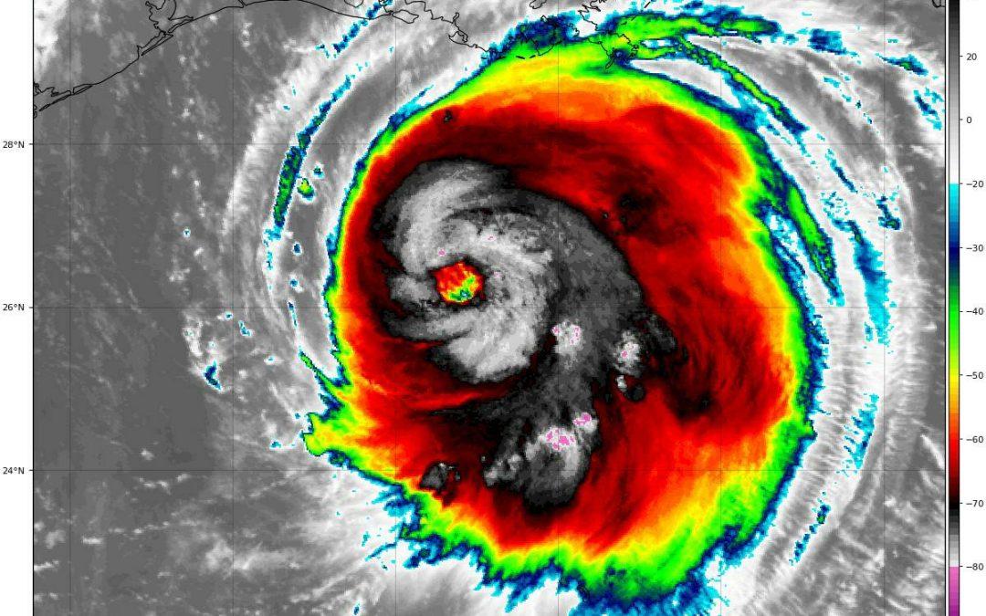 Laura puede ser un peligroso huracán categoría 4 al tocar tierra
