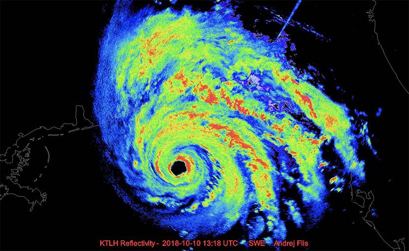 """La OMM retira los nombres """"Florence"""" y """"Michael"""" de la lista de huracanes atlánticos"""