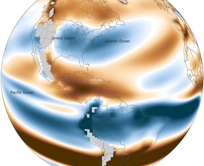 El calentamiento global puede incrementar el riesgo de huracanes «bomba» en la Costa Este de los USA