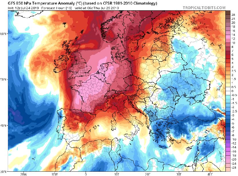 La segunda ola de calor que asa a media Europa