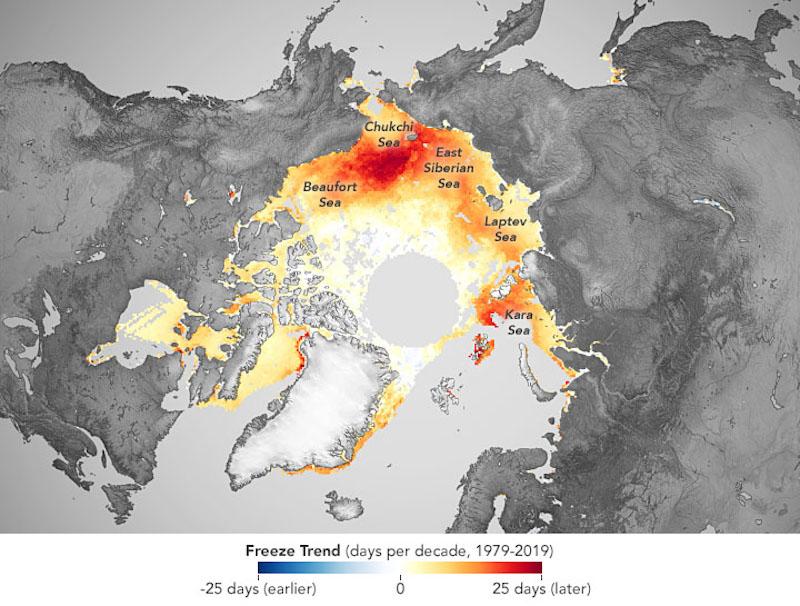 El deshielo Ártico aumenta las nevadas en el S. de Europa