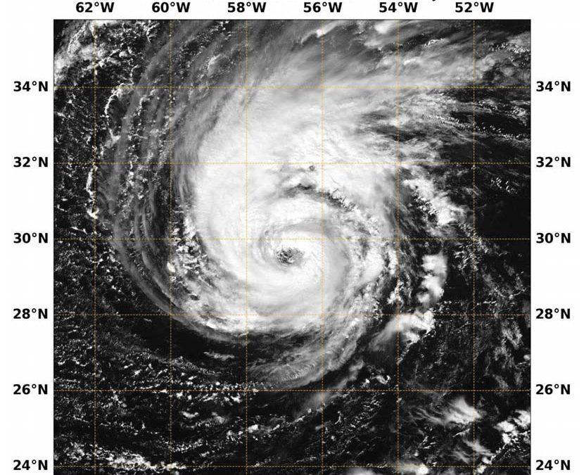 Huracán Leslie de octubre de 2018, todo un hito meteorológico