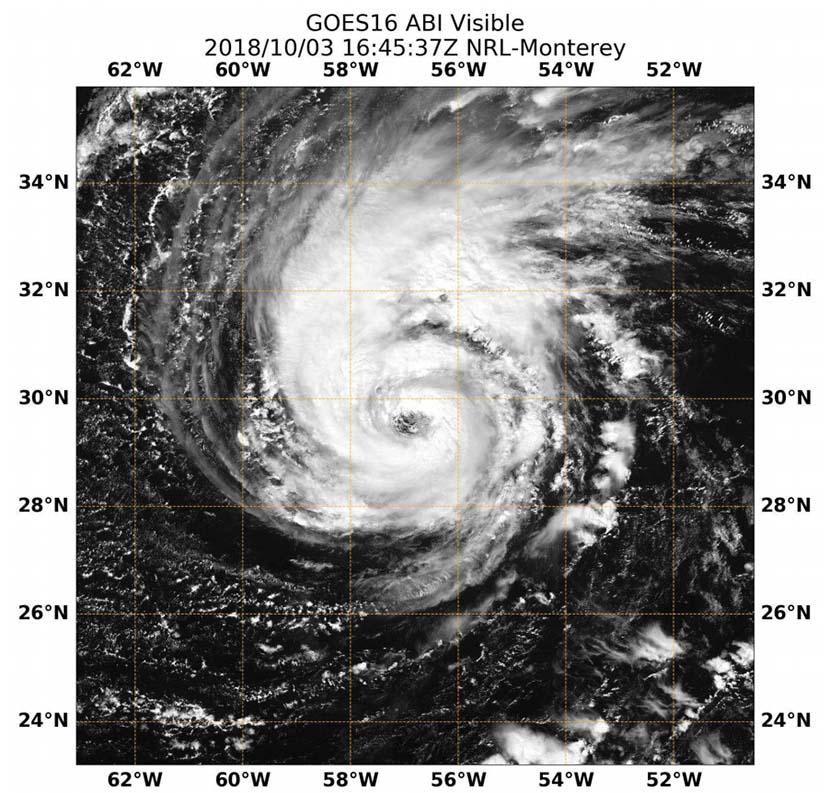 huracán Leslie