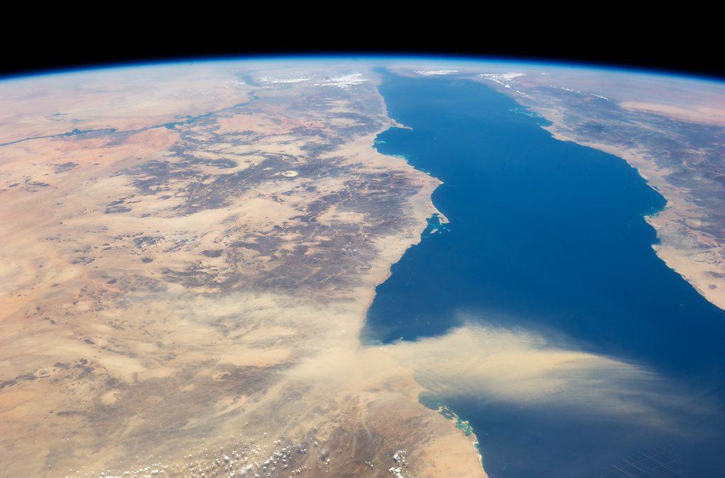 La excepción: el Mar Rojo tiende a enfriarse
