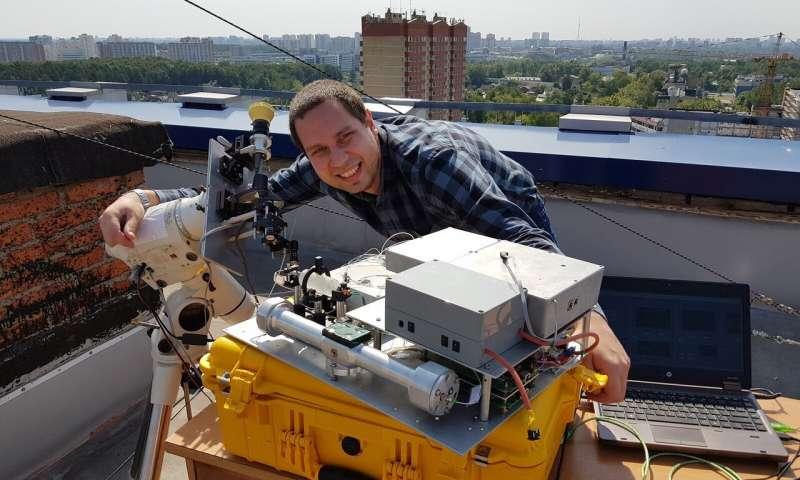 Un nuevo método para mediciones remotas de la velocidad del viento