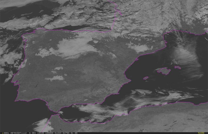 Nieblas de advección y radiación