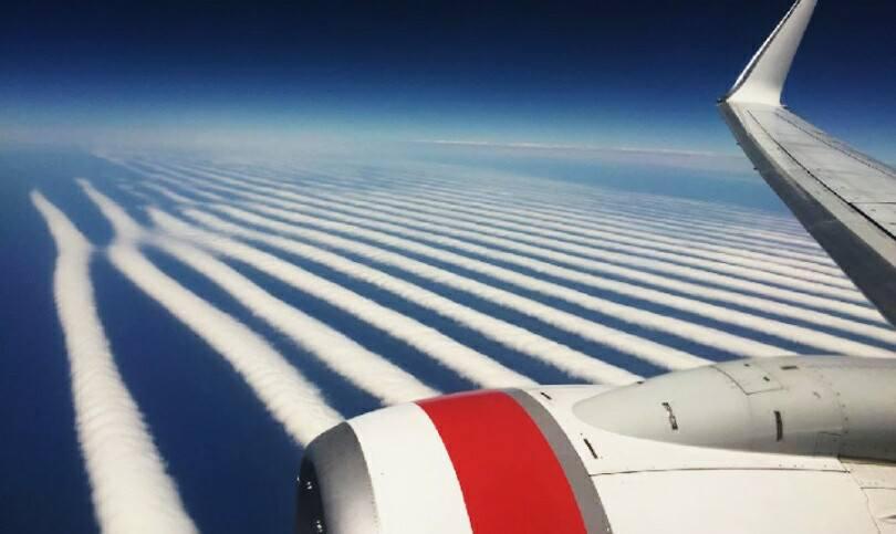La imponente nube gloria matutina