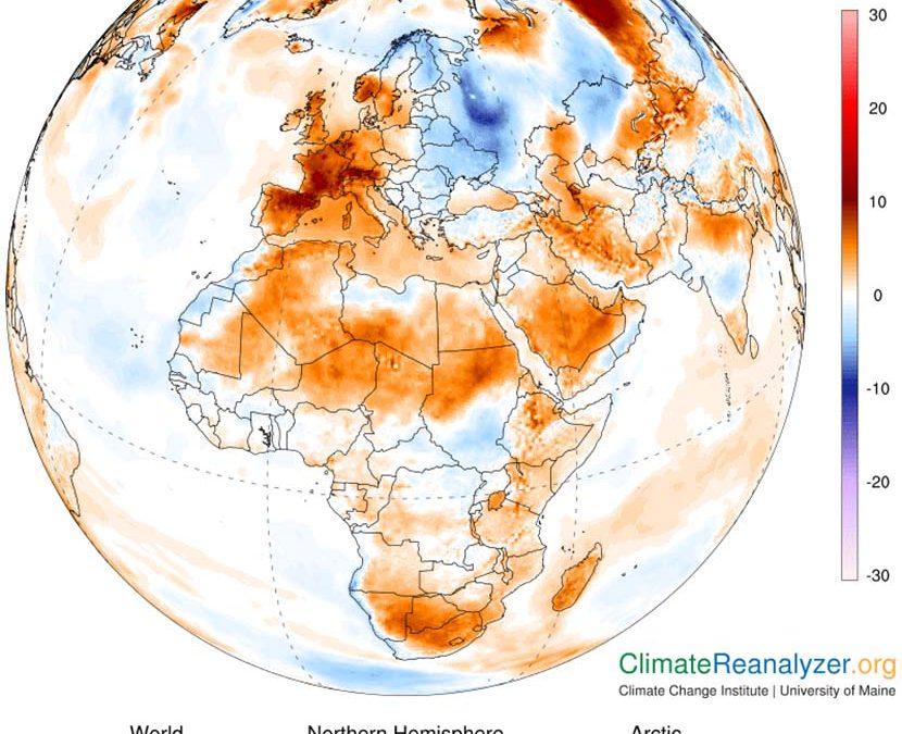 Ola de calor histórica para un mes de junio