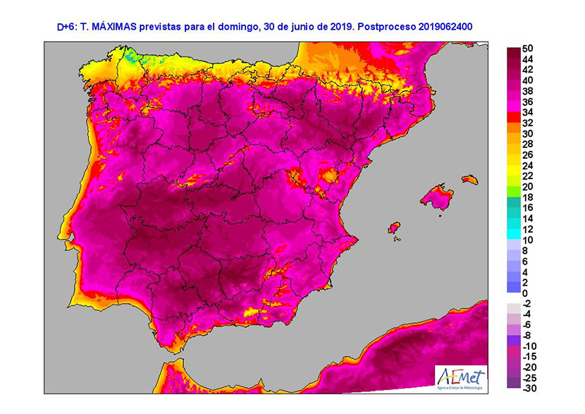 Teleconexiones y oscilaciones que afectan a las olas de calor en la Ibérica (III)