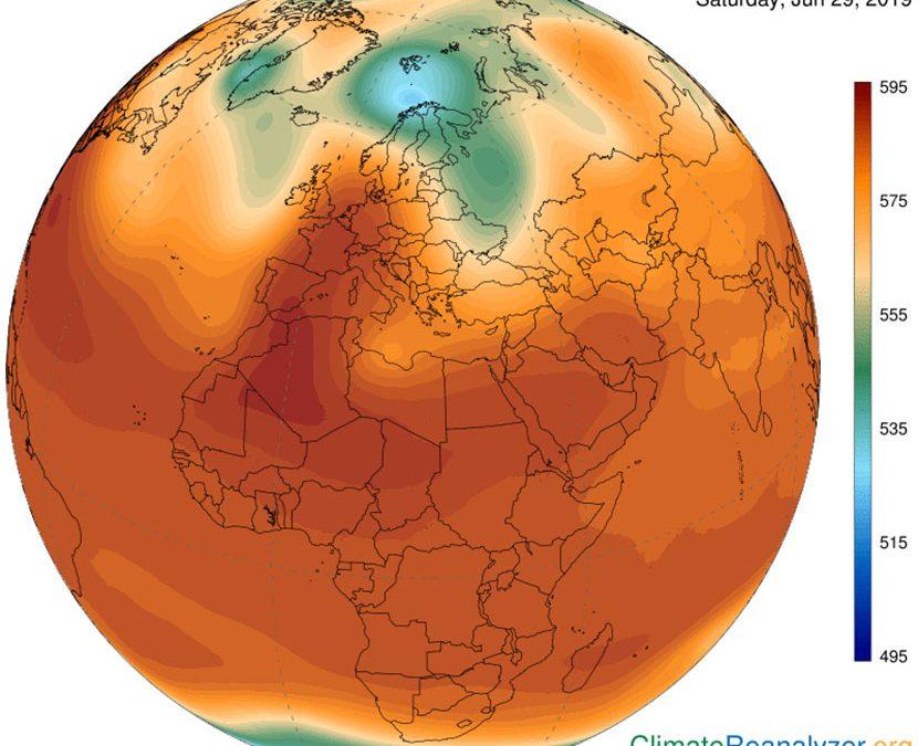 Teleconexiones y oscilaciones que afectan a las olas de calor en la Ibérica (II)