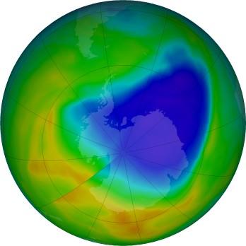 La capa de ozono se recupera pese a la meteorología adversa