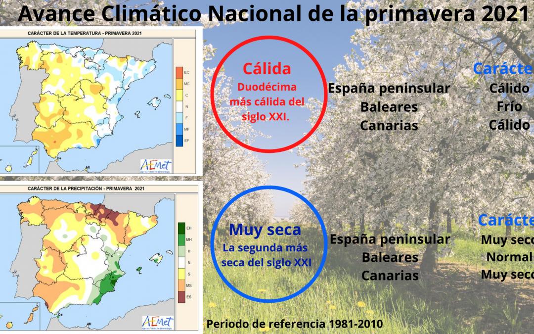 La primavera fue la más seca en los últimos 15 años