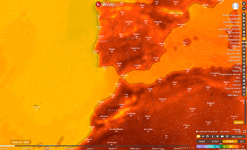 Llega la primera ola de calor 'oficial' del verano 2020