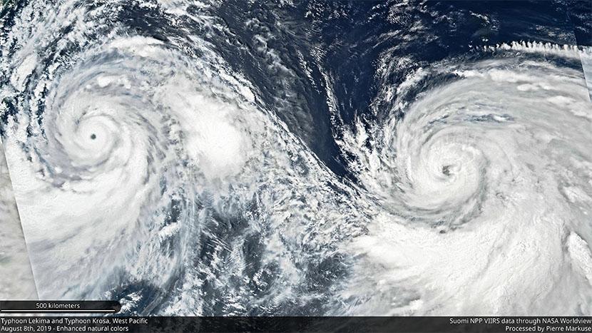 Verano 2019: se suceden los fenómenos meteorológicos raros y extremos