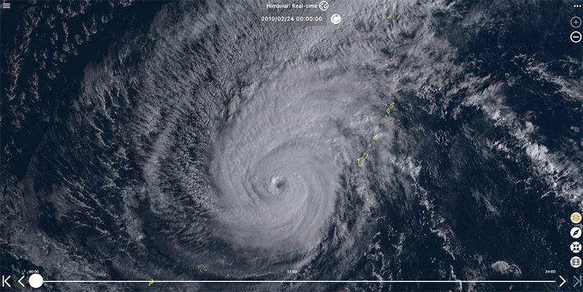Tornados en USA y Wutip, el tifón más potente jamás registrado en un febrero