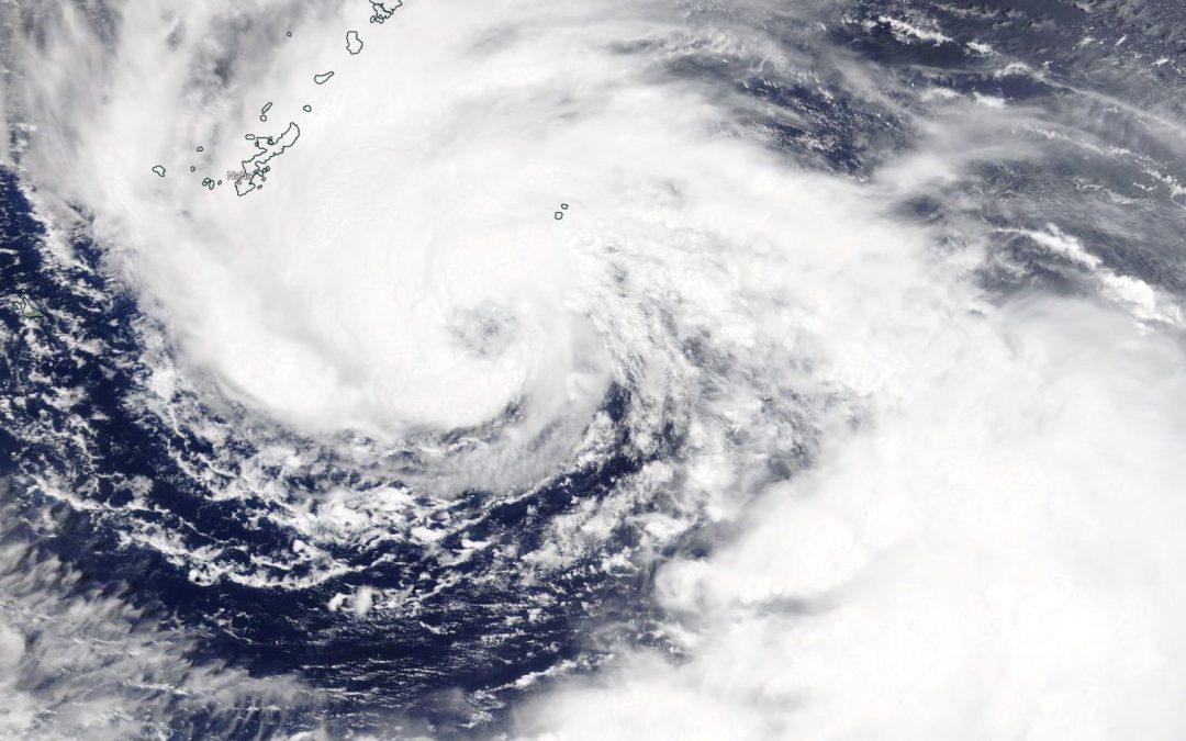 Tifón In-Fa en el Mar de Filipinas, potencial coloso