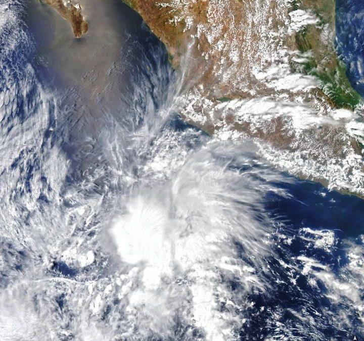 Andrés, la tormenta tropical más temprana del Pacífico Oriental