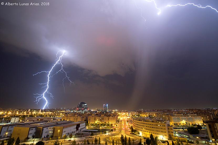 Las tormentas serán cada vez más intensas