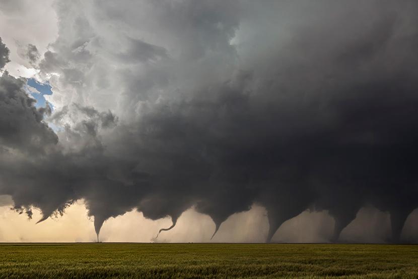 Los tornados se forman desde el suelo, según un nuevo estudio